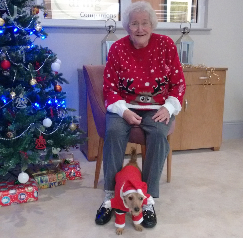 Tonbridge care community holds 'ugly' Christmas jumper party