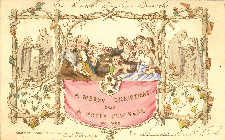 Greetings from Cranbrook: The first ever Christmas card