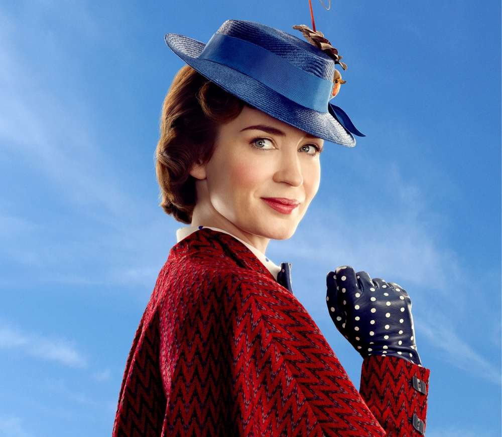 Mary Poppins: Emily Blunt is Practically Perfect