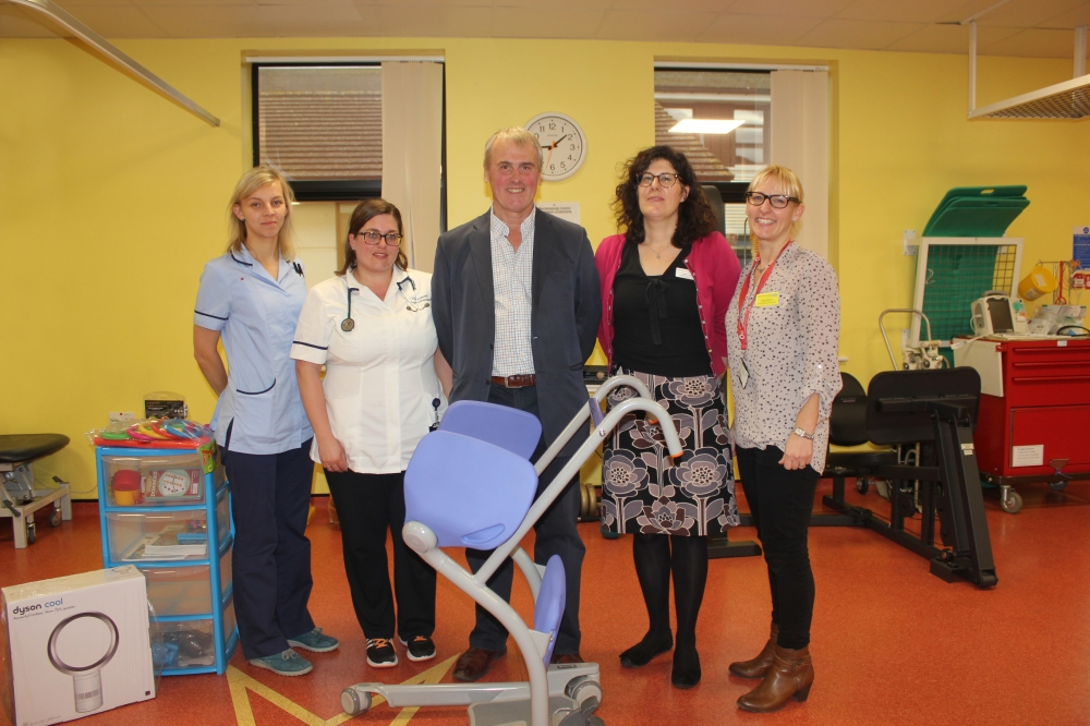 Patient's donation to thank hospital staff who saved his life