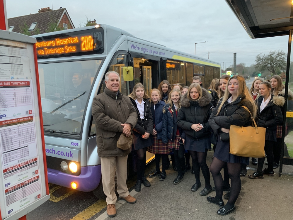 People power wins trial to replace axed Tonbridge school bus