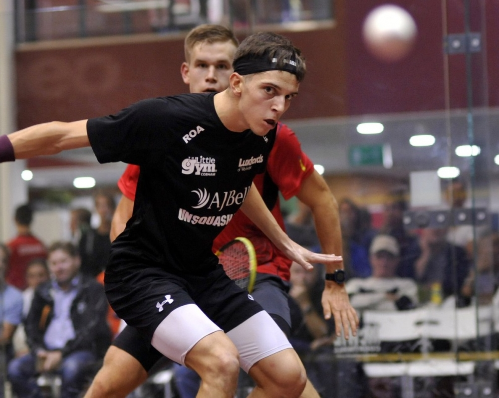 SQUASH: Elite gather for Tunbridge Wells' Colin Payne Open