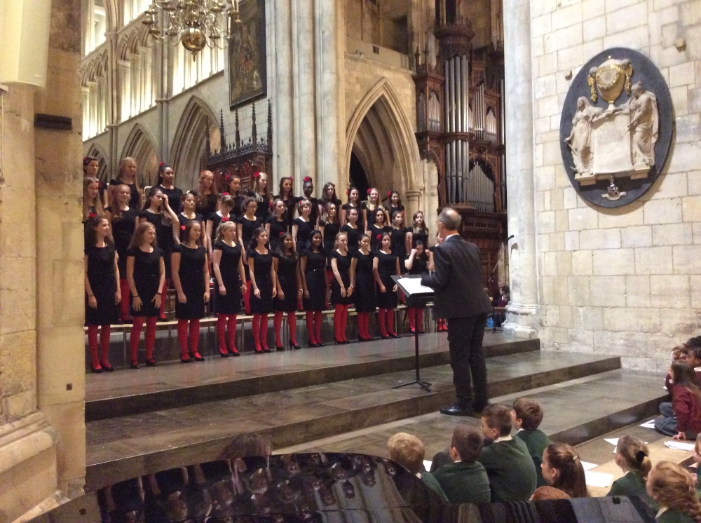 Grammar's three choirs raise the roof