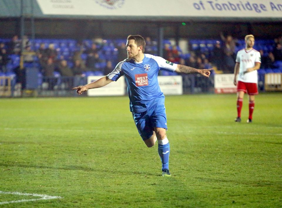 Football: Tonbridge Angels restore hope against Brightlingsea