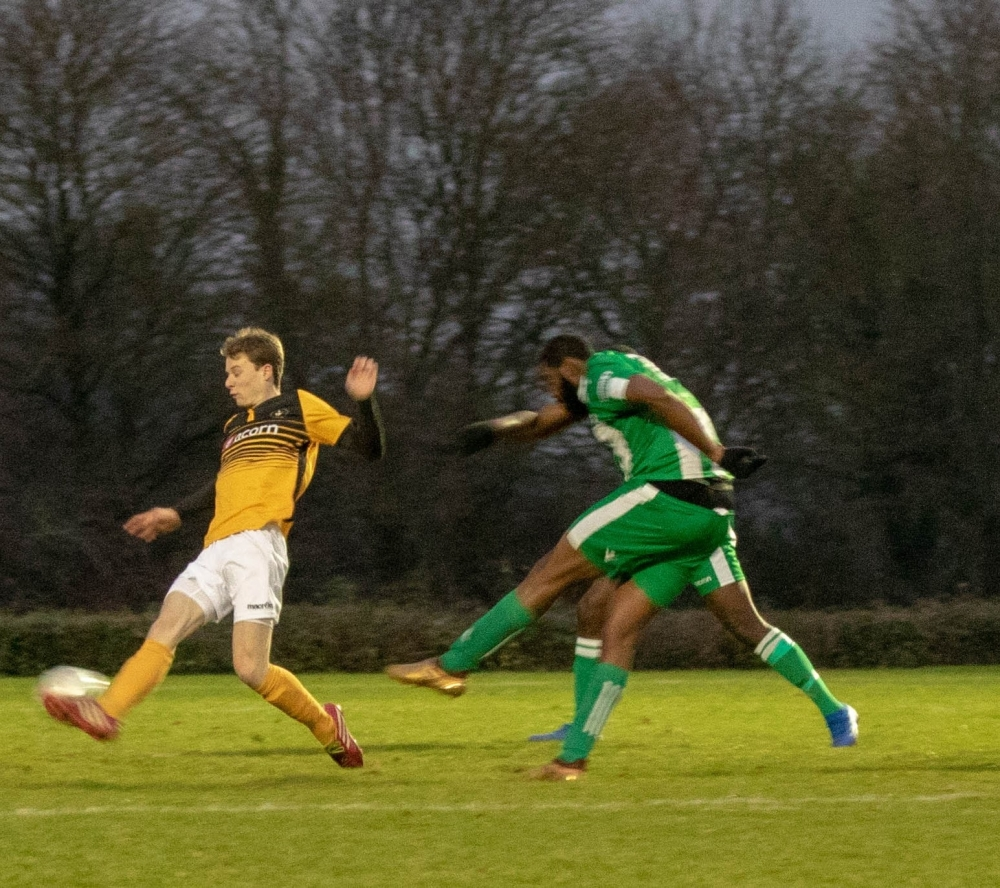 Football: Ruthless Cray Wanderers end Rusthall's cup run