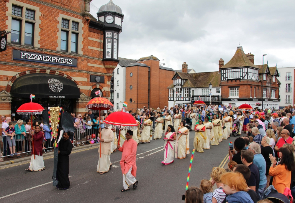 Flower power blooms at this year's Tonbridge carnival