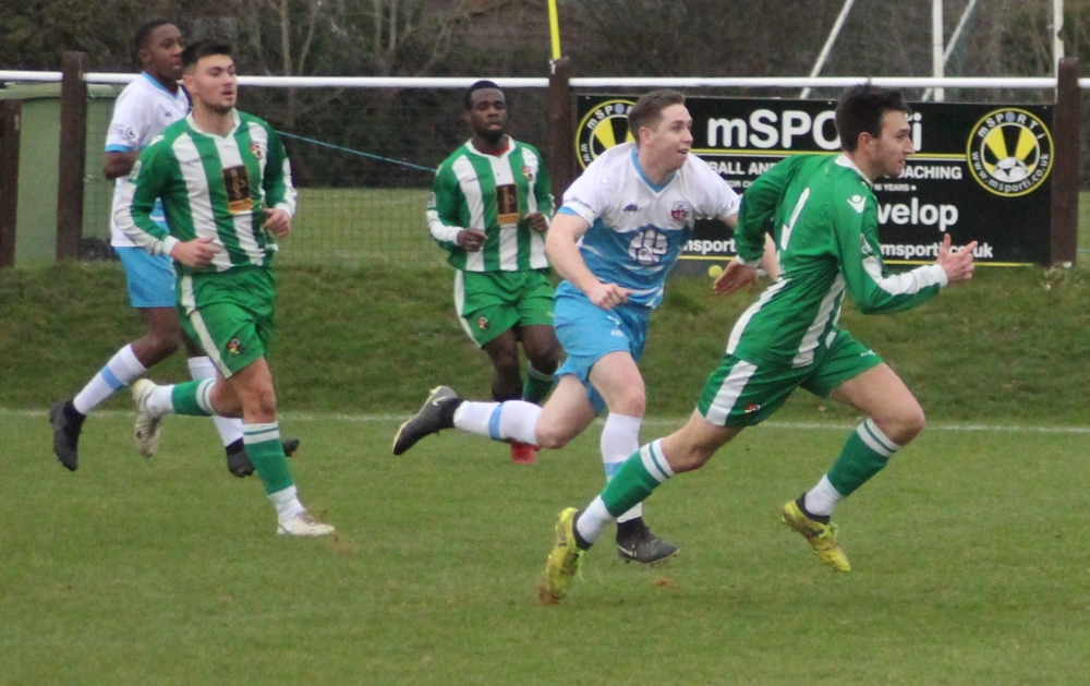 Football: Red card leaves Rusthall adrift against Sheppey
