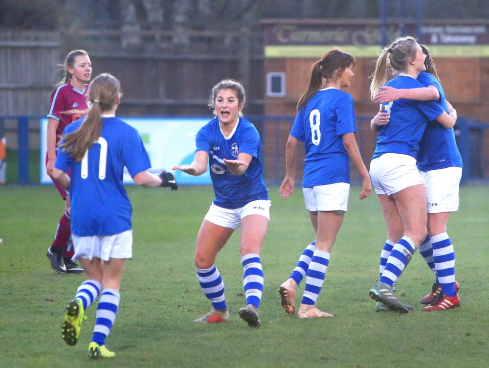 Football: Tonbridge Angels Ladies reach last four