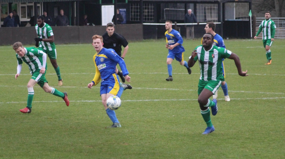Football: Rusthall Reserves and Snodland battle for the top