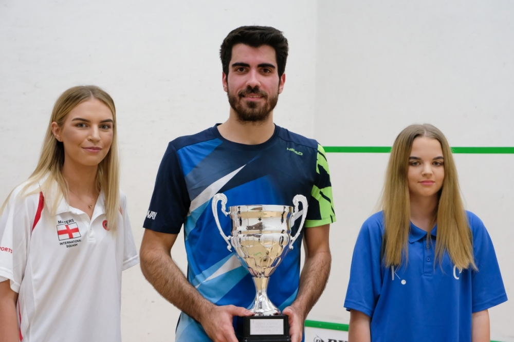 Squash: Big crowd enjoys thrilling PSA final in Tunbridge Wells