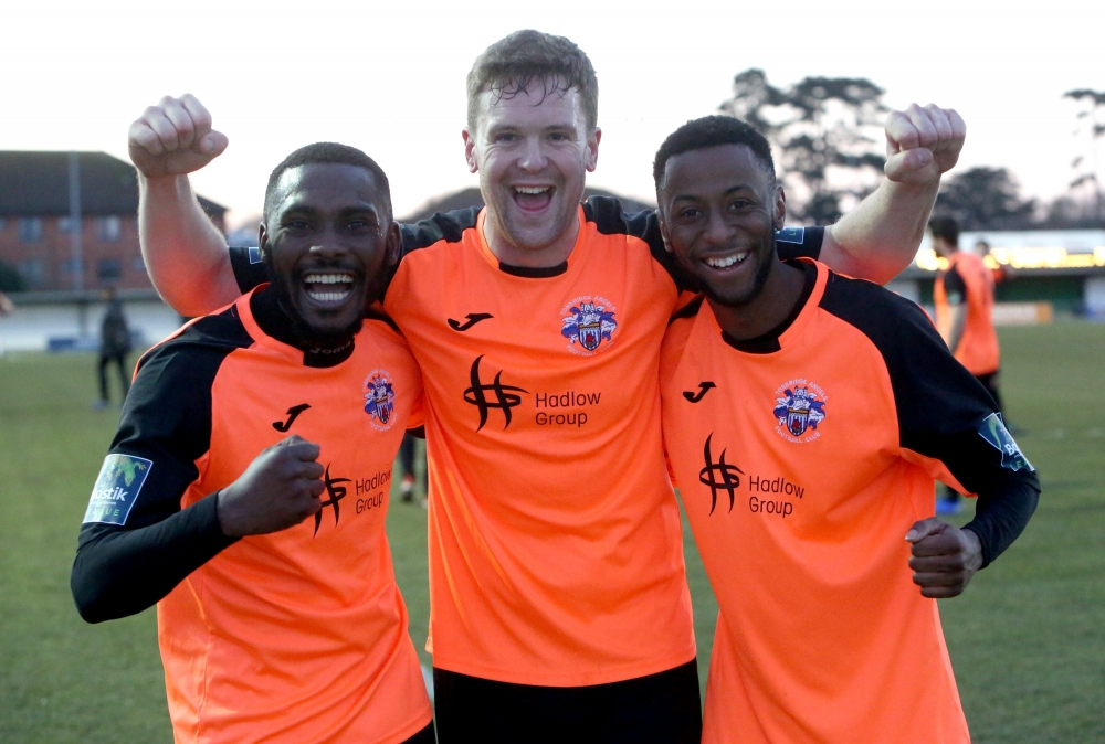 Football: Tonbridge Angels rising high after Bognor Regis comeback