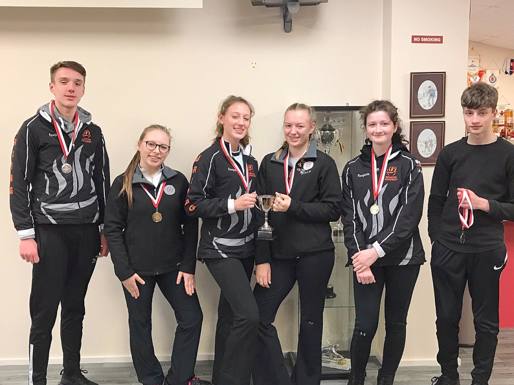 Curling: Crowborough's Beacon pupils shine on the ice again
