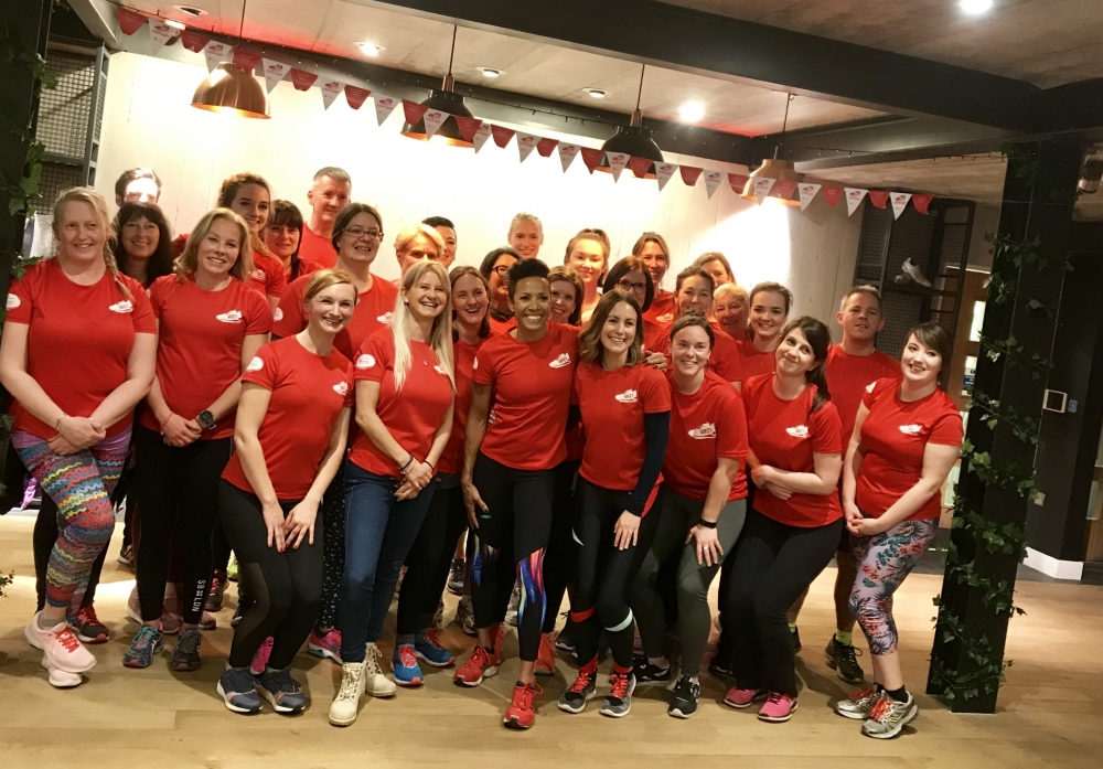 Dame Kelly Holmes starts year in style in Tonbridge