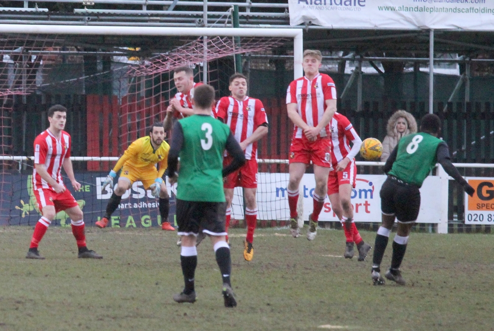 Football: Rusthall's revenge over Cray Valley is thwarted