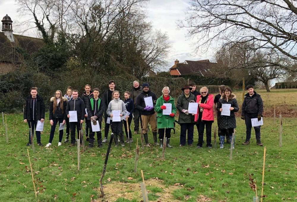 Trees of Love plan green future with Tonbridge planting events