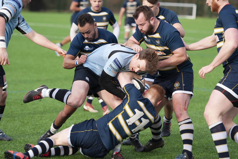Rugby: Tunbridge Wells edged out by leaders Sutton & Epsom