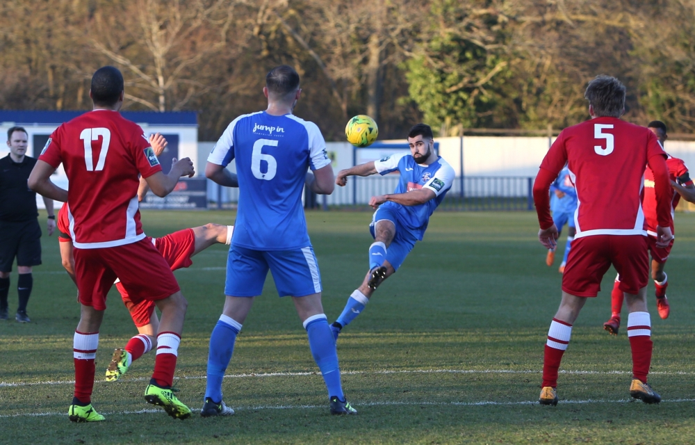 Football: Tonbridge Angels frustrated by Merstham's defence