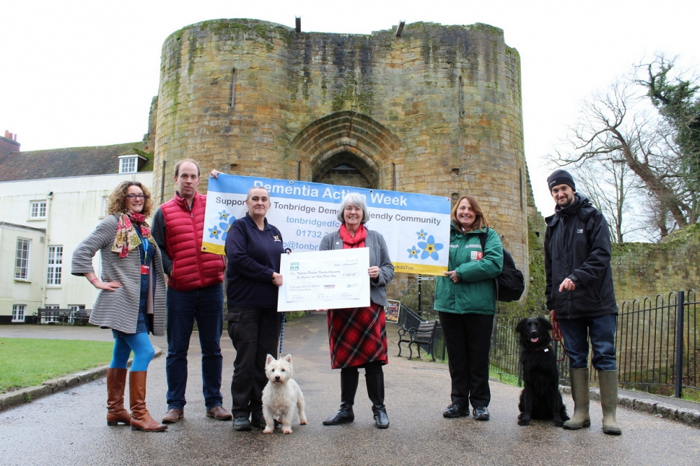 Tonbridge Dog Show's tail of success for Dementia Friendly Community