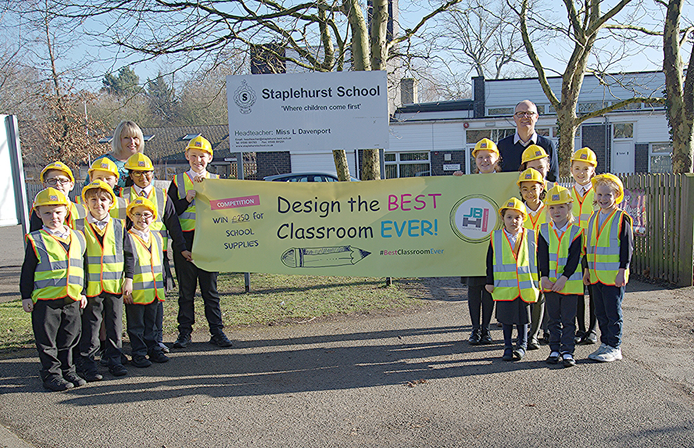 Best Classroom Ever competition helps Kent schools with budgets