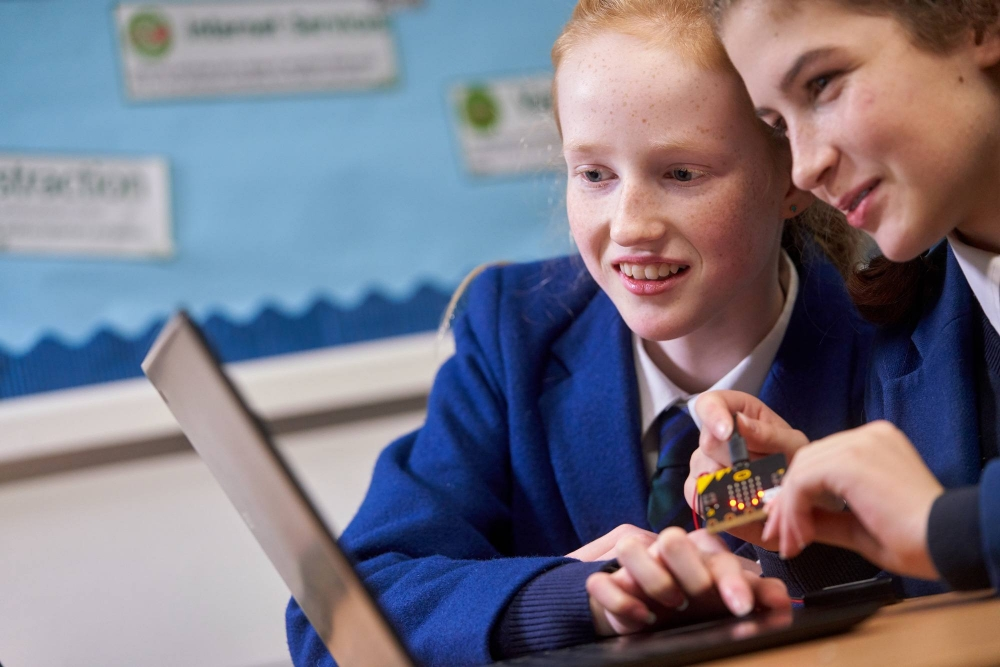 David Slattery, Head of Computing at Claremont Prep School, talks classroom connectivity