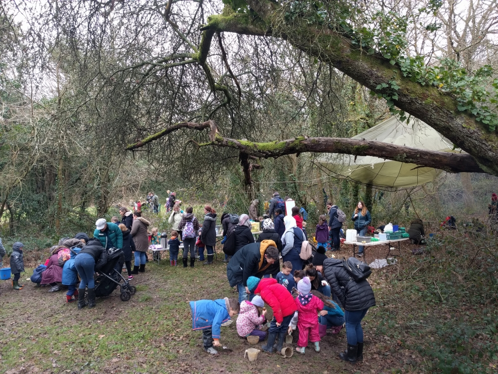 Tunbridge Wells Friends have the Common touch hosting free Forest School
