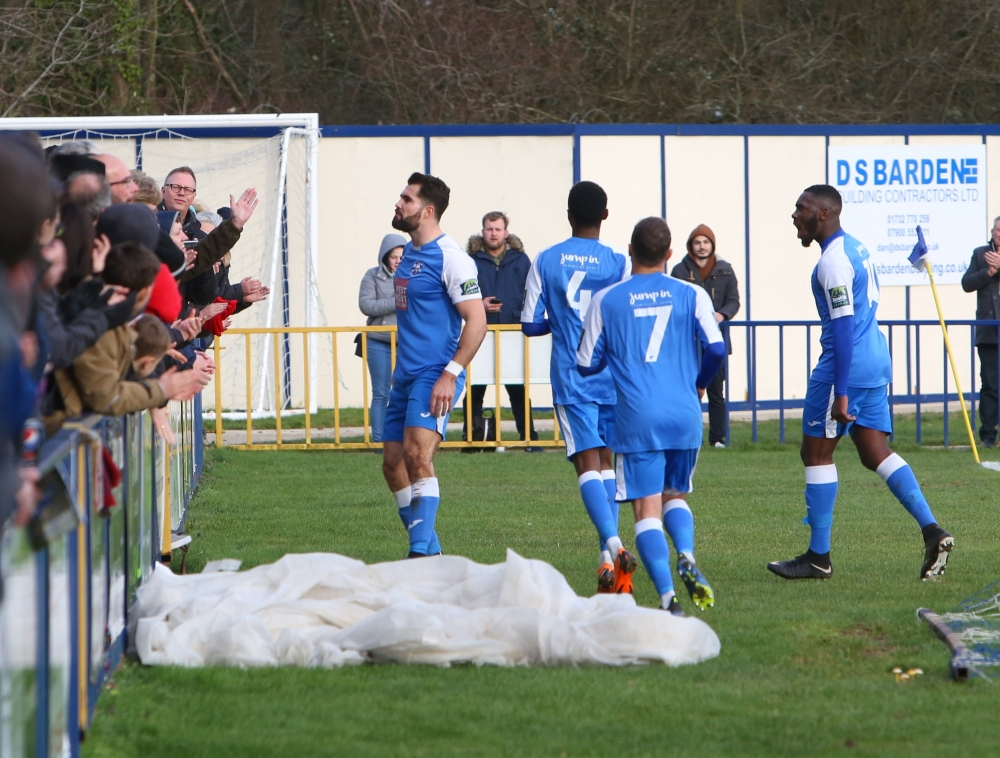 Football: Tonbridge Angels boost playoff hopes against Corinthian Casuals