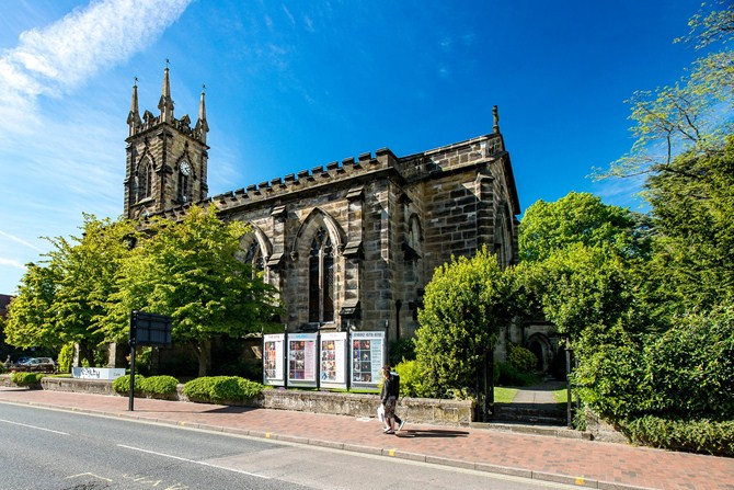 Trinity Theatre is in central Tunbridge Wells and housed in a former church