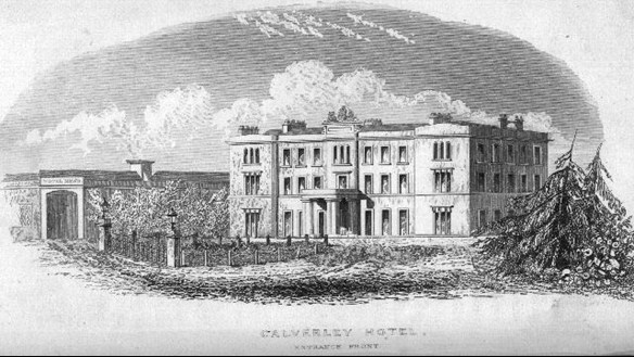 Calverley House, where Queen Victoria stayed, is now Hotel Du Vin