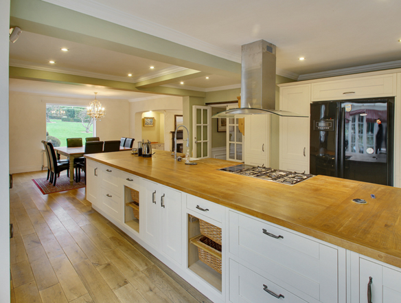 Chart Mill in Chart Sutton has a kitchen well-suited to entertaining guests