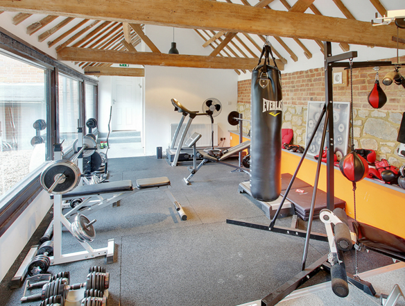 Chart Mill in Chart Sutton has it's own gym