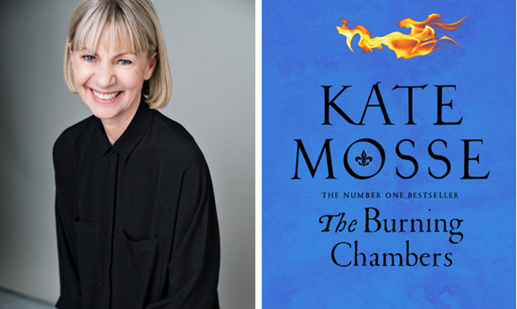 Kate Mosse will be launching The Burning Chambers at Chiddingstone Literary Festival