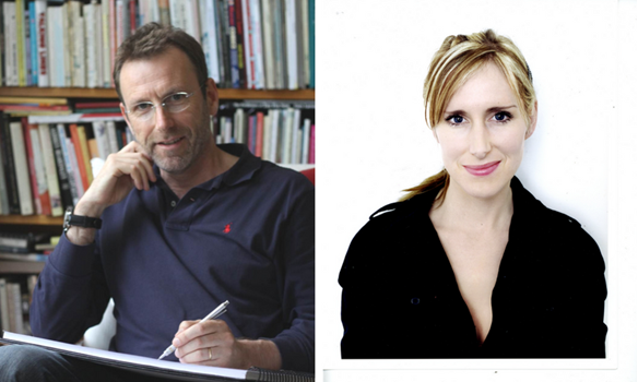 David Melling (left) and Lauren Child (right) will be attendance at Chiddingstone Literary Festival