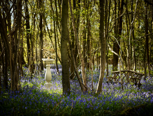Chilstone woodland gardens are a perfect backdrop for their sculptures
