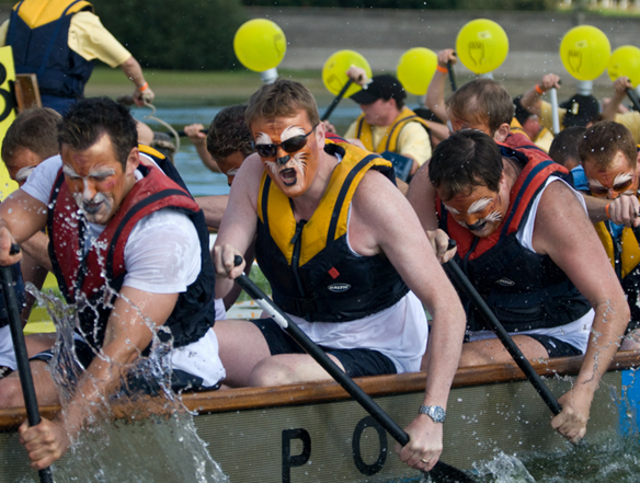 Dragon Boat Festival is a big charity fundraising event, taking place each year at Bewl Water