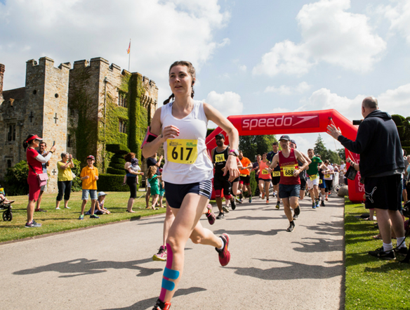 Organised by Castle Triathlon Series, the Festival of Endurance is returning once again to Hever Castle