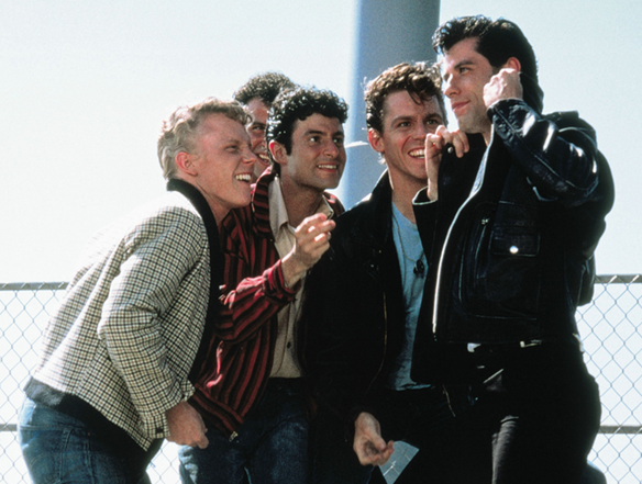 Grease is turning 40. Is Grease lightning the best track for getting guys to dance?