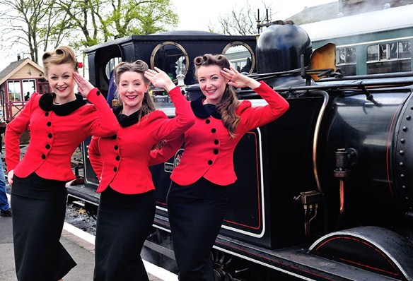 1940S weekend at Kent and East Sussex Railway