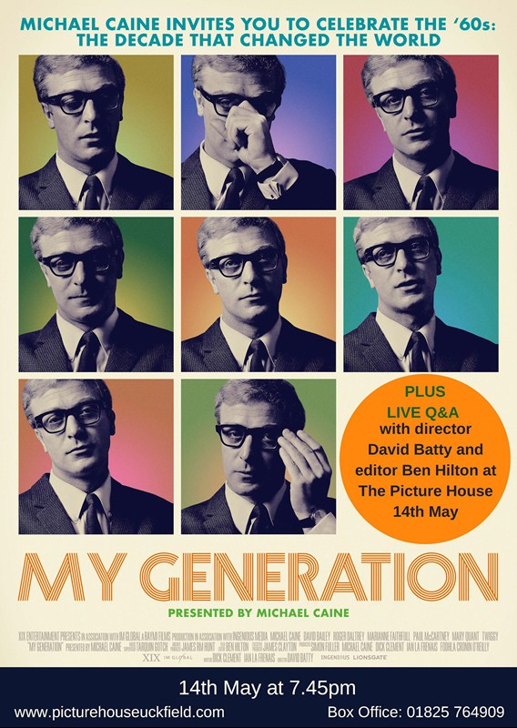 My Generation features a live exclusiv QA at Picture House, Uckfield