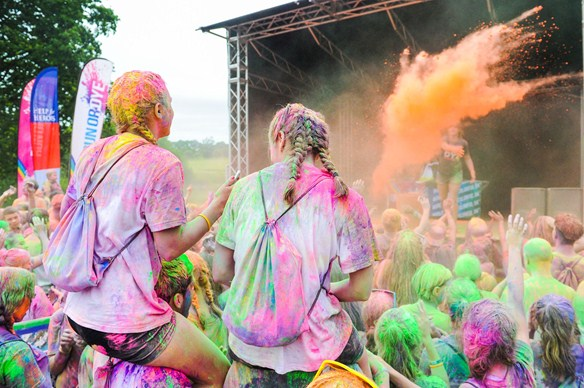 Run or Dye at Penshurst Place is surely the world's most colourful race!