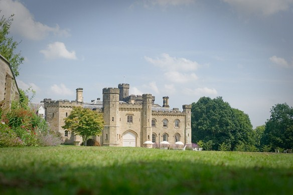 Chiddingstone Castle is an impressive backfrop to its large literary festival