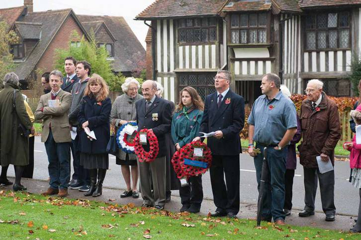 Brenchley Remembrance Day