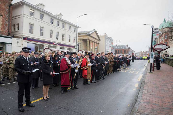 Tunbridge Wells Remembrance Day 2