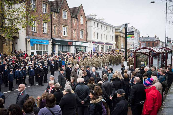 Tunbridge Wells Remembrance Day 14