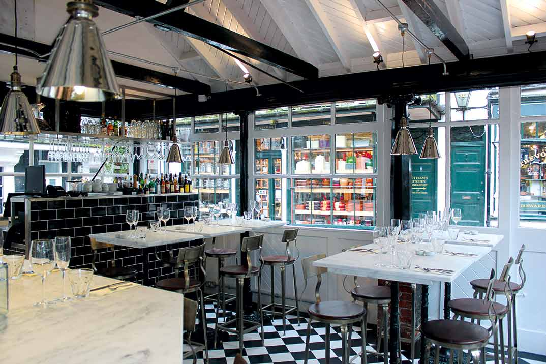 The Old Fishmarket Champagne & Seafood Bar