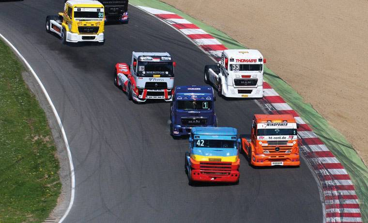 Brands Hatch Truck Racing