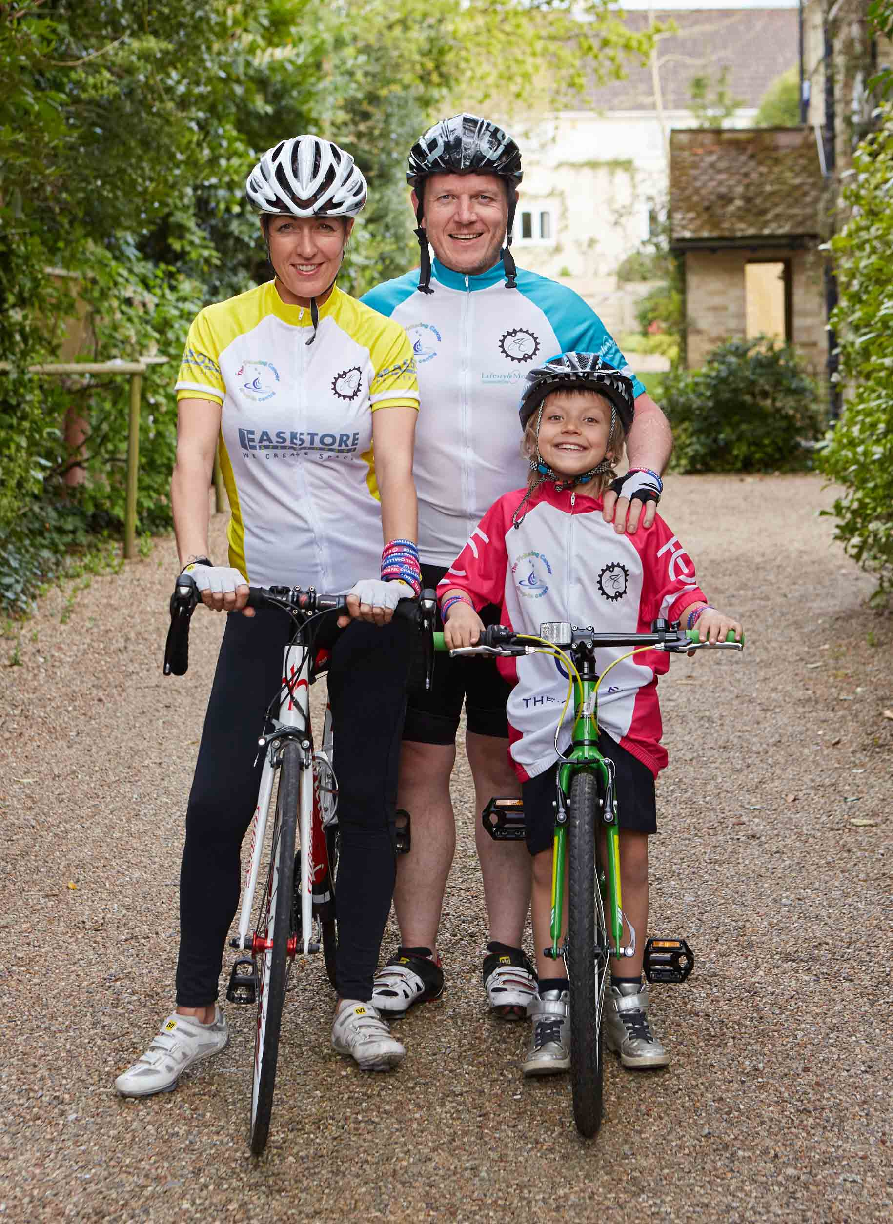 Charity ride across the alps becomes a real family affair for Charity motors 8 mile lahser