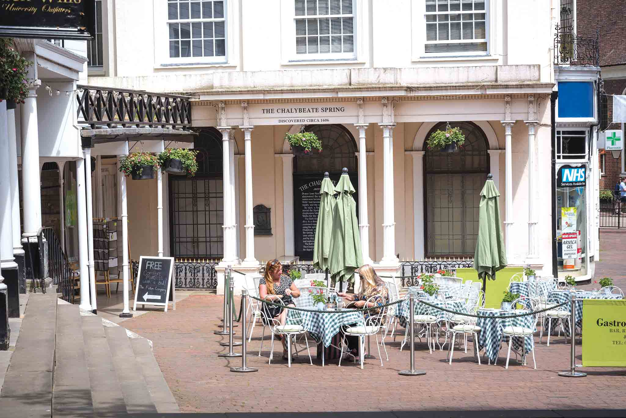 Chalybeate Spring The Pantiles Tunbridge Wells