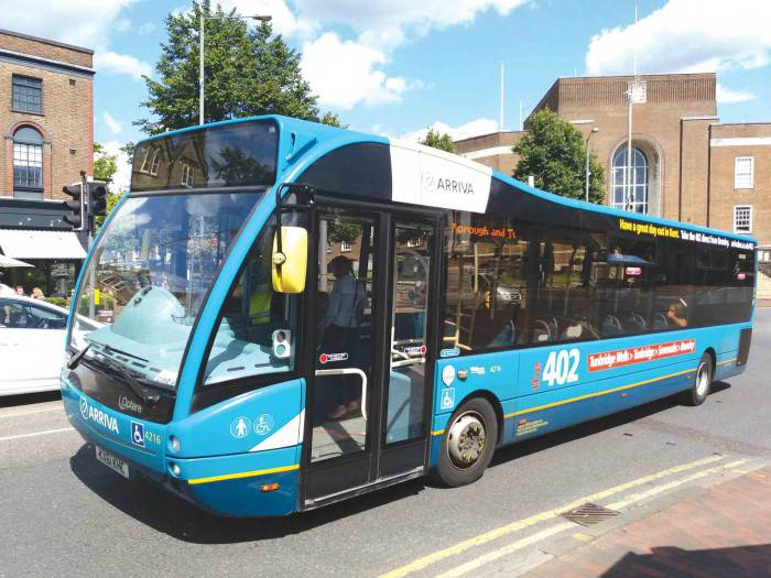 Arriva Bus Tunbridge Wells