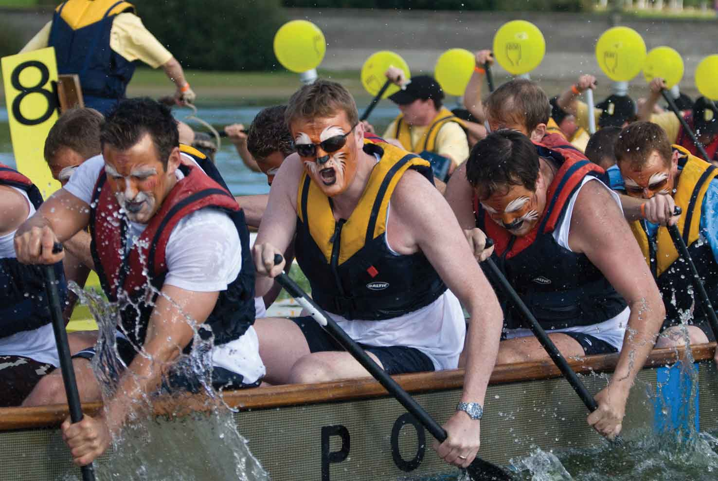Bewl Water Dragon Boat Festival
