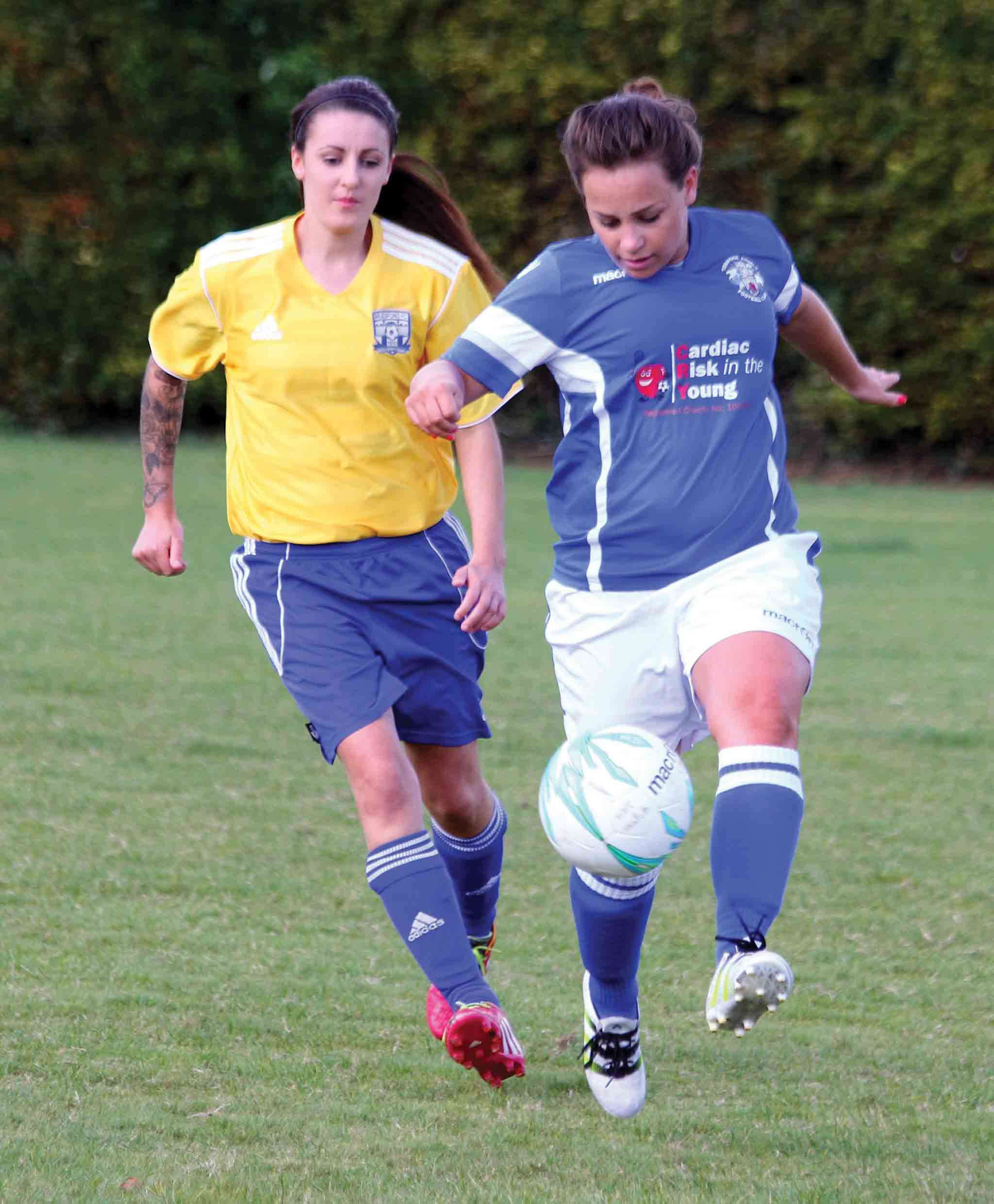 Tonbridge Angels Ladies Castle Colts